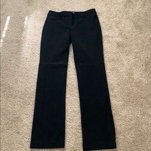 Black express editor pants
